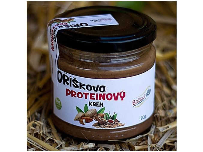 Oříškovo proteinový krém 190 g