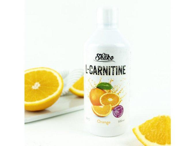 Chia Shake  L-carnitine pomeranč - spaluje a odbourává tuky