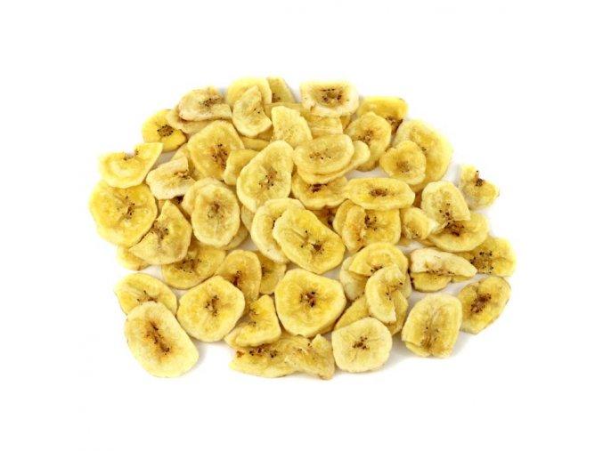 Banánove chipsy neslazené BIO