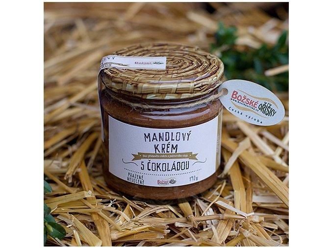 Mandlový krém s čokoládou 190 g