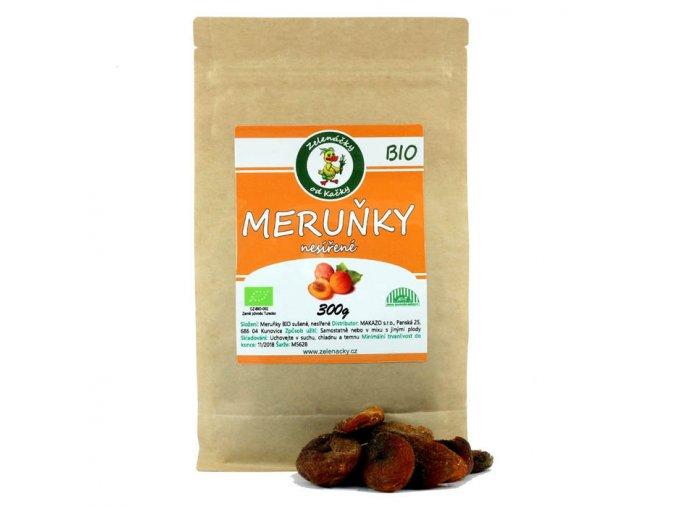 Sušené meruňky BIO - Zelenáčky