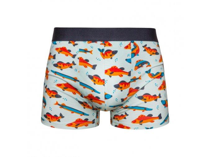 Veselé boxerky Ryby