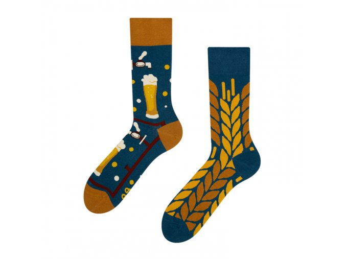 Veselé ponožky Čas na pivo