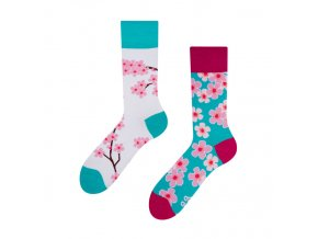 Veselé ponožky Sakura
