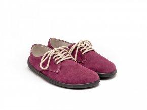 Barefootová módní obuv Be Lenka City - Plum | Zelenáčky