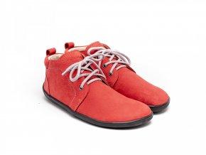 Barefoot Be Lenka Icon celoroční - Deep Red | Zelenáčky