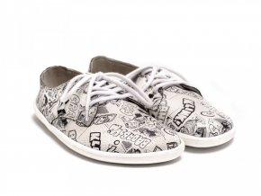 Barefootová módní obuv Be Lenka City - Comics | Zelenáčky