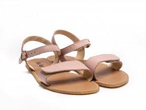 Stylové barefoot kožené sandálky Be Lenka Grace - Rose | Zelenáčky