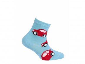 Dětské ponožky Gatta Auta Světle modré
