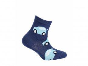 Dětské ponožky Gatta Auta Tmavě modré