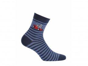 Dětské ponožky Wola Formule modré