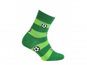Dětské ponožky Wola Míče zelené