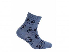 Dětské ponožky Wola Pandy modré