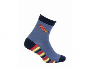 Dětské ponožky Wola Skateboard modré
