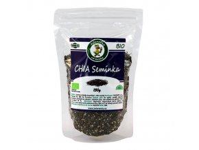 Chia semínka BIO - zdroj vysoké energetické hodnoty - Zelenáčky