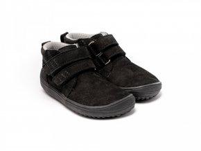 Dětské barefoot boty Be Lenka Play - All Black | Zelenáčky