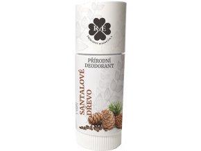 Přírodní deodorant BIO bambucké máslo - s vůní santalového dřeva 25 ml | Zelenáčky