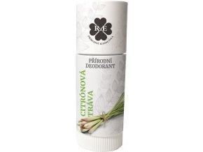 Přírodní deodorant BIO bambucké máslo s vůní citrónové trávy 25 ml | Zelenáčky