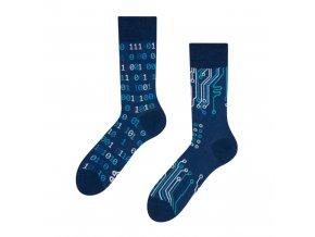 Veselé ponožky IT | Zelenáčky