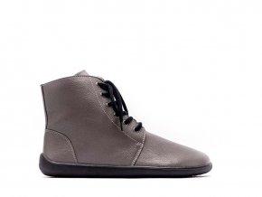 Barefoot kotníkové boty Be Lenka Nord – Grey | Zelenáčky