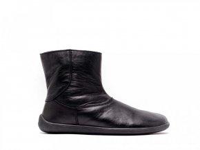 Barefoot kotníkové boty Be Lenka Polar – Black | Zelenáčky
