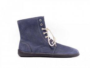 Barefoot kotníkové boty Be Lenka Winter – Marine | Zelenáčky