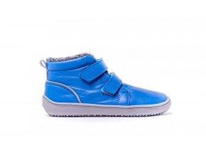 Dětské zimní barefoot boty Be Lenka Penguin - Blue | Zelenáčky