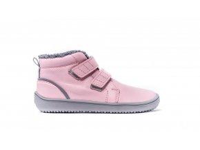 Dětské zimní barefoot boty Be Lenka Penguin - Pink | Zelenáčky