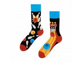 Veselé ponožky Bowling | Zelenáčky