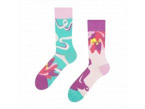 Veselé ponožky Jóga | Zelenáčky