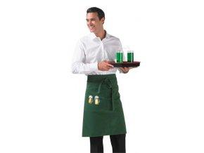 Barmanská zástěra s výšivkou - pivo | Zelenáčky