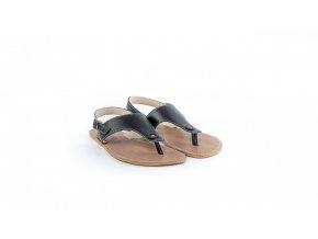 Barefoot sandály Be Lenka Promenade - Black | Zelenáčky