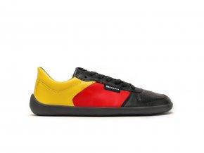 Barefoot tenisky Be Lenka Champ - Patriot - Black, Red & Gold | Zelenáčky
