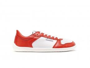 Barefoot tenisky Be Lenka Champ - Patriot - Red & White | Zelenáčky