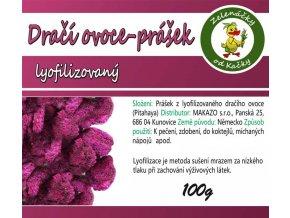 Dračí ovoce lyofilizované prášek | Zelenáčky