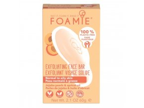 Foamie Cleansing Face Bar Exfoliating More Than A Peeling