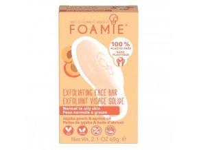 Foamie pleťové čisticí mýdlo Exfoliating More Than A Peeling | Zelenáčky