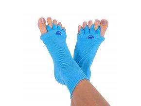 Adjustační ponožky Happy Feet modré| Zelenáčky
