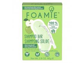 Foamie tuhý šampon An Apple A Day | Zelenáčky
