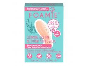 Foamie pleťové čisticí mýdlo Don't Spot Me Now | Zelenáčky