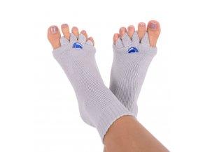 Adjustační ponožky Happy Feet šedé | Zelenáčky