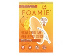 Foamie tuhé sprchové mýdlo Tropic | Zelenáčky