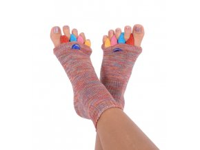 Adjustační ponožky Happy Feet barevné | Zelenáčky