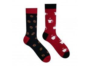 Veselé ponožky Káva | Zelenáčky