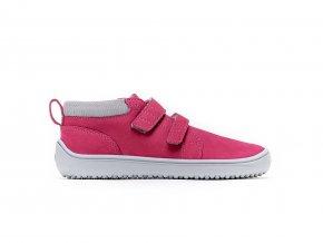 Dětské barefoot boty Be Lenka Play - Dark pink | Zelenáčky
