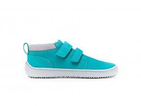 Dětské barefoot boty Be Lenka Play - Aqua Green | Zelenáčky