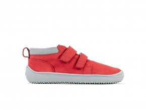 Dětské barefoot boty Be Lenka Play - Red | Zelenáčky