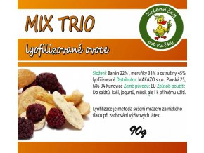 Mix lyofilizovaného ovoce - Trio | Zelenáčky