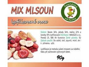Mix lyofilizovaného ovoce - Mlsoun | Zelenáčky