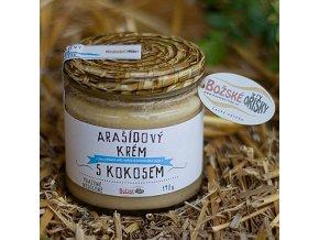 Arašídový krém s kokosem - 190 g